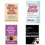Selection of speed reading books reviewed