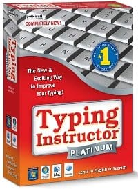 image of Typing Instructor Platinum 2014