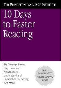 Cover Speed Reading Books - 10 Days Faster Reading