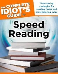 Cover Speed Reading Books - Idiot's Guide to Speed Reading