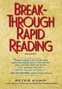 Cover Speed Reading Books - Breakthrough Reading by Peter Kump