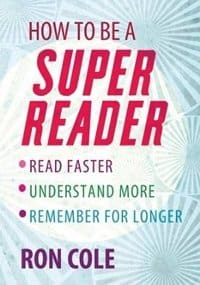 Cover Speed Reading Books - Super Reader by Ron Cole