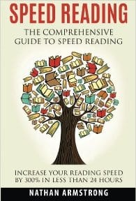 Cover Speed Reading Books - Speed Reading by Nathan Armstrong