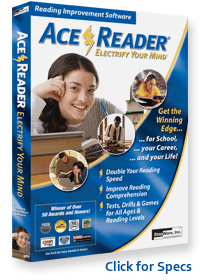 Speed Reading Software Image Acereader Pro
