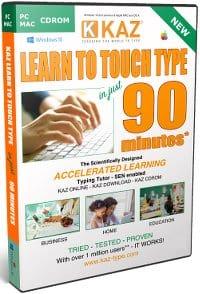 image of kaz-typing-tutor-software