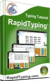 Image of the Rapid Typing software tutor