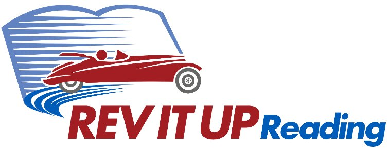 logo image of the Rev it Up Speed Reading Course
