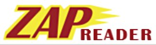 logo image of the ZAP Reader Software