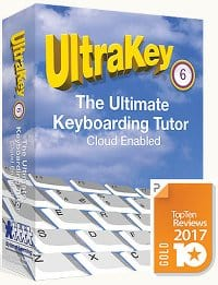 cover image of Ultrakey Typing Software