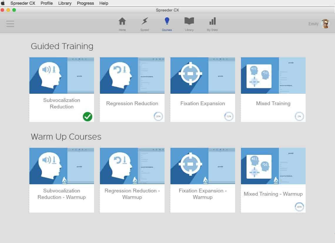 Image of Spreeder - Training Screenshot