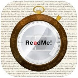 image of ReadMe! Speed Reading App for iOS, Android