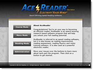 acereader-elite-startup-screen