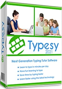 cover image of Typesy typing software 2021